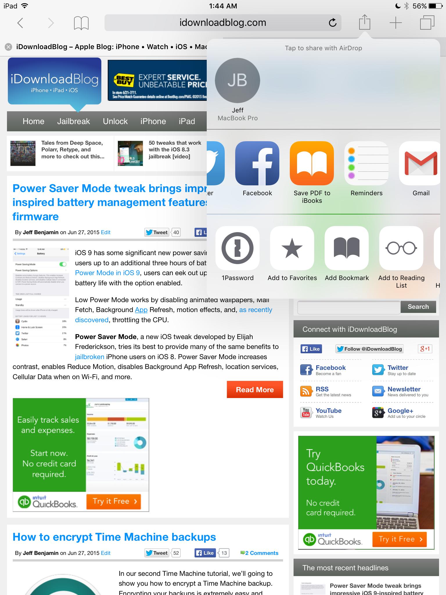 Save PDF iOS 9