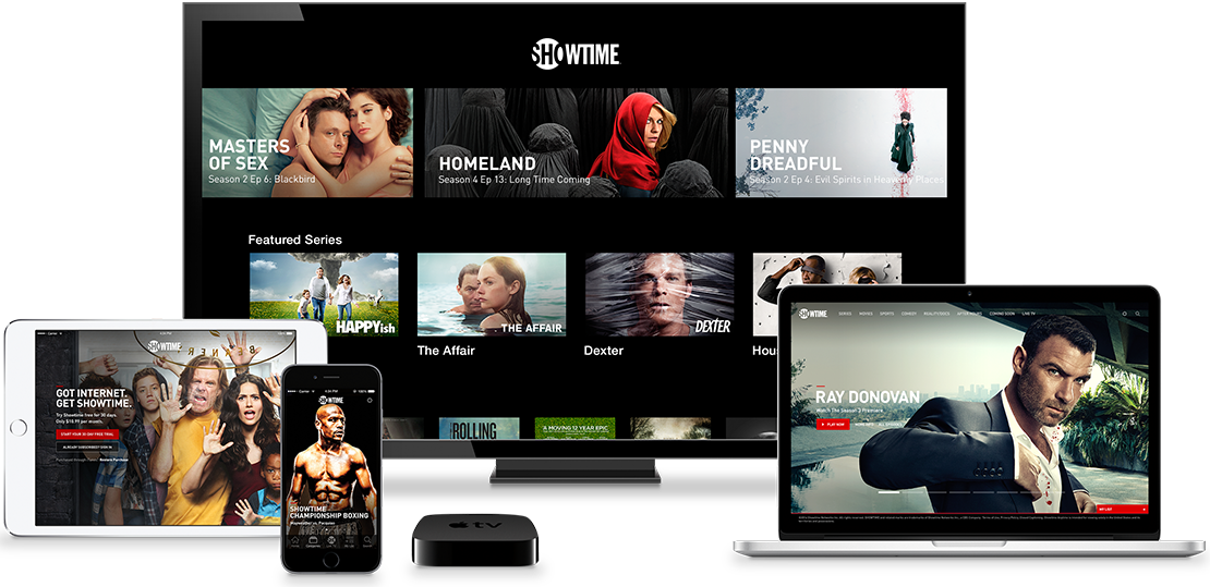Showtime for iOS devices and Apple TV teaser 001