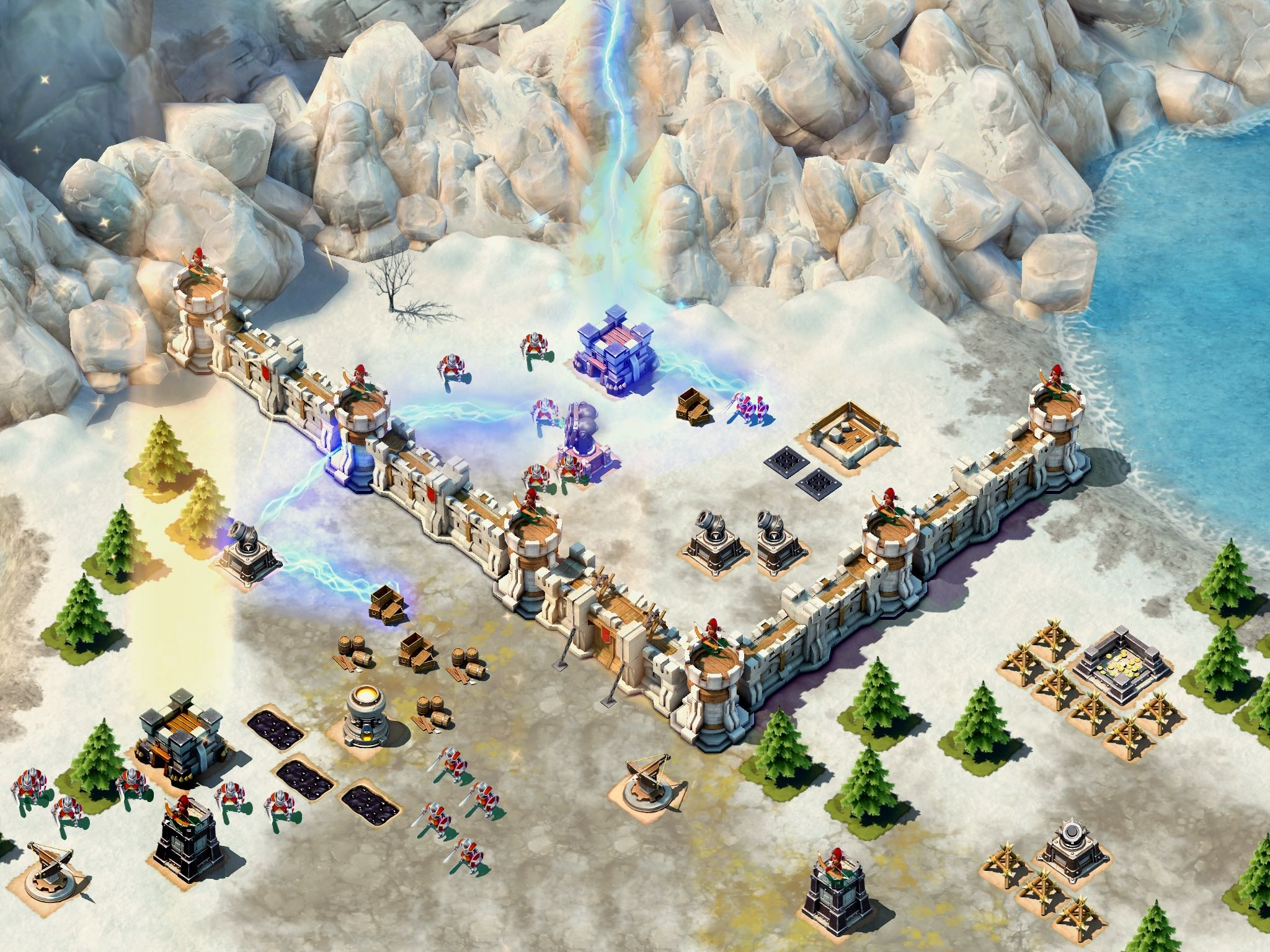 Siegefall for iOS iPad screenshot 005