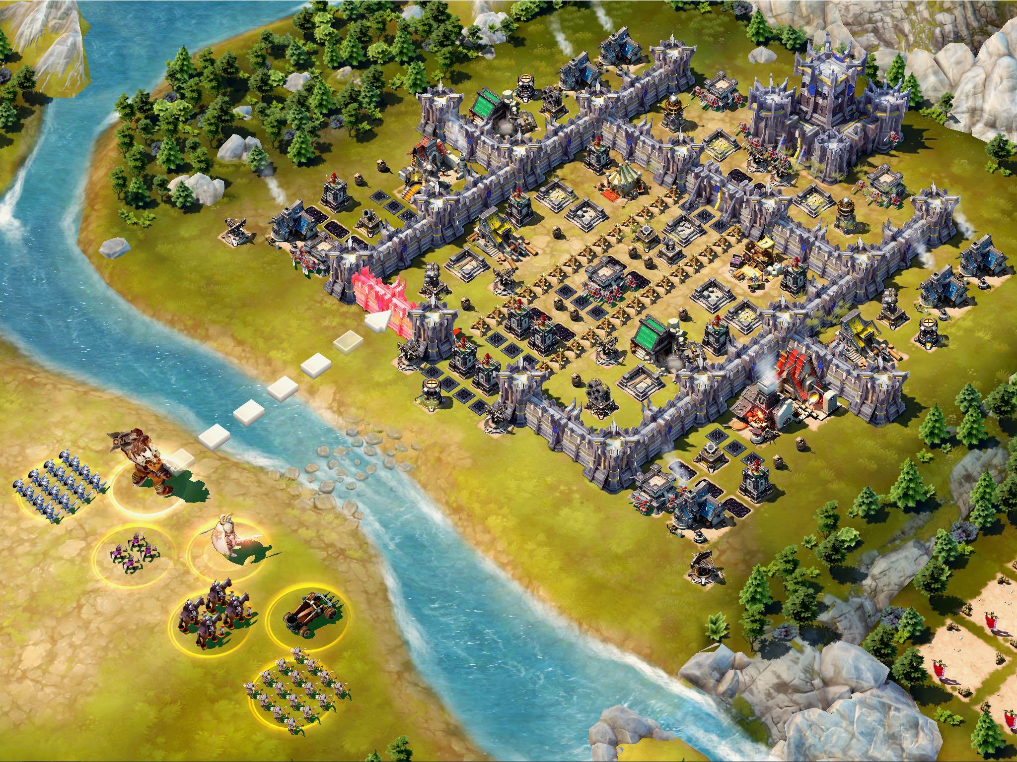 Siegefall for iOS iPad screenshot 006
