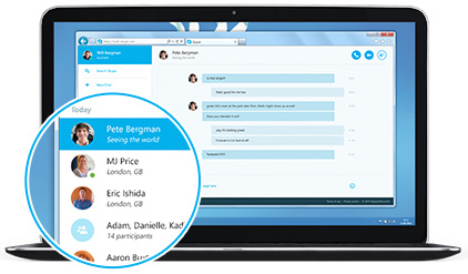 Skype for Web timeline