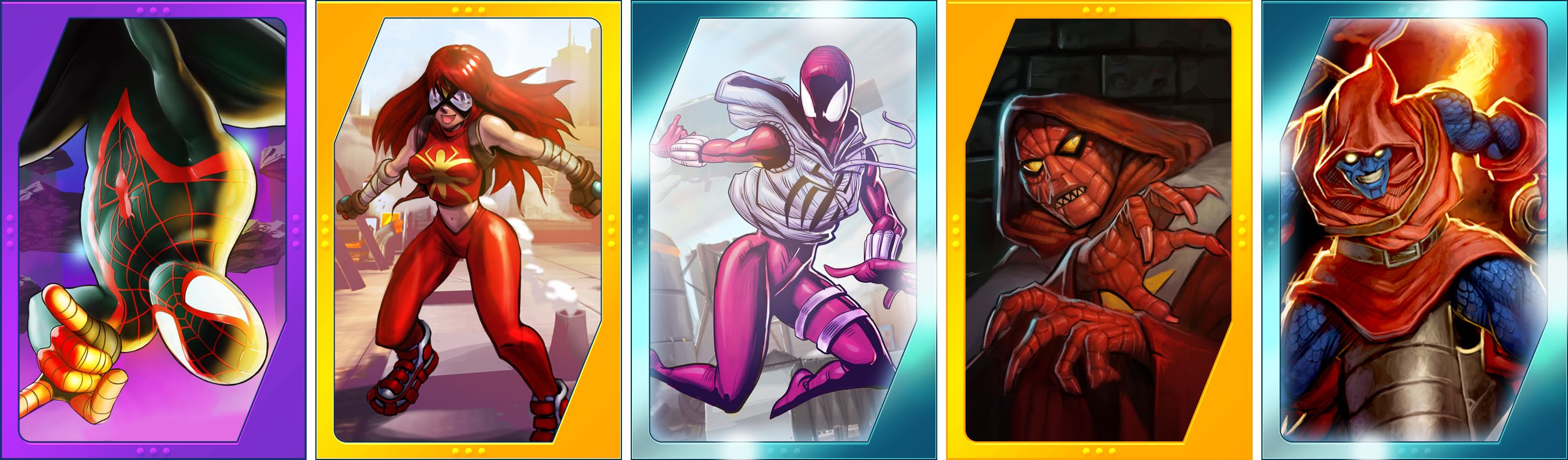 Spider-Man Unlimited for iOS new Spideys