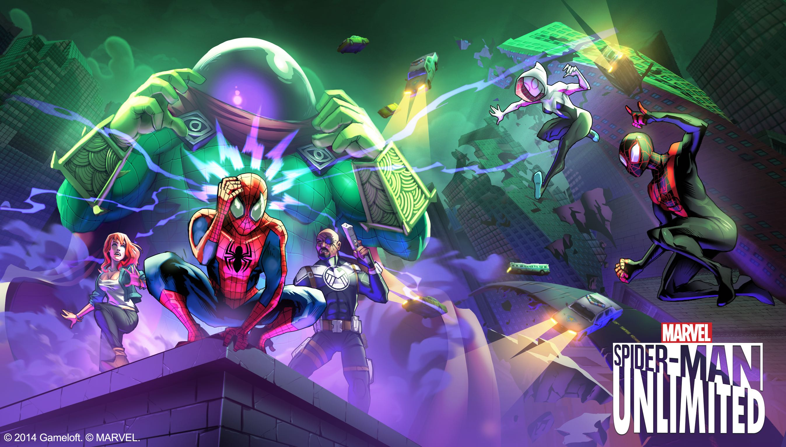 Spider-Man Unlimited for iOS teaser 001