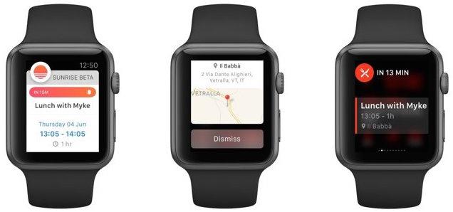 Sunrise Calendar for Apple Watch screenshot 002