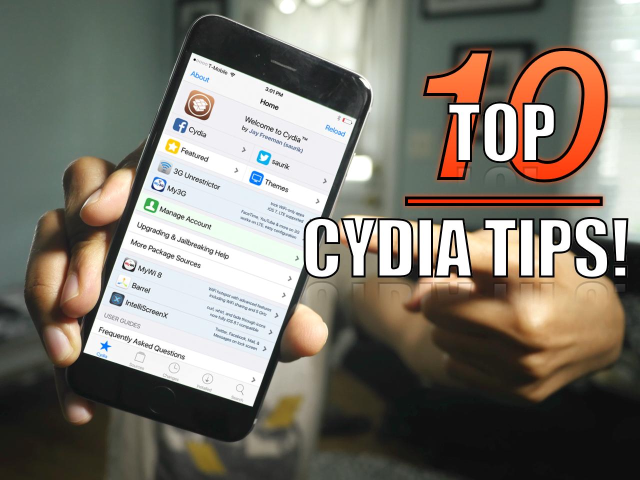 Top 10 Cydia Tips Video