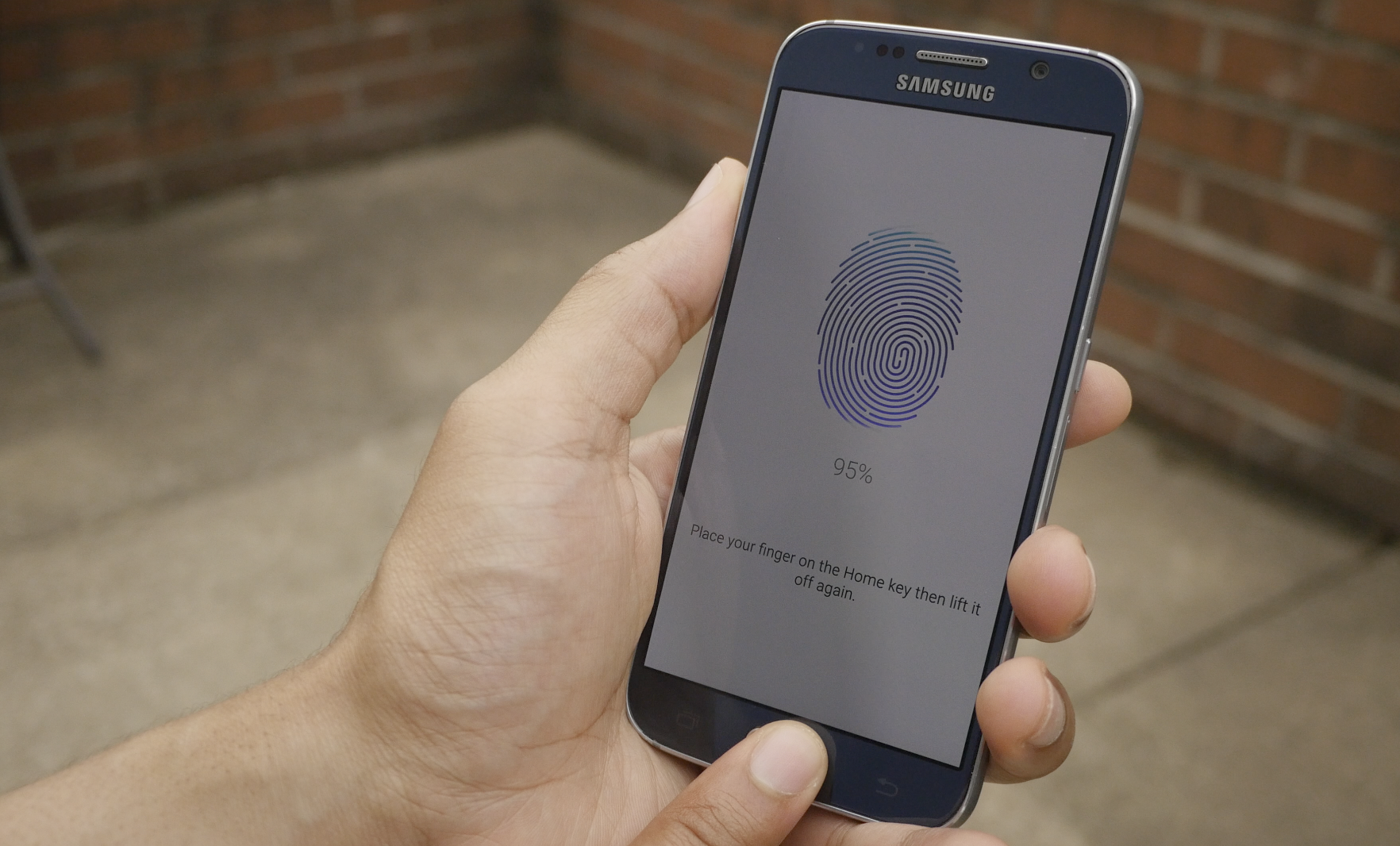 Touch ID Galaxy S6
