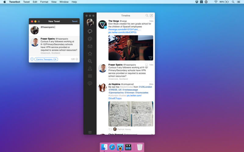 Tweetbot 2 for OS X Mac screenshot 001