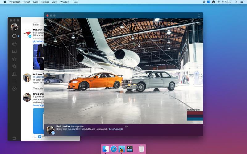 Tweetbot 2 para OS X Mac captura de pantalla 003