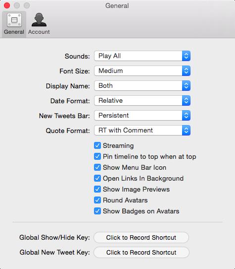 Tweetbot 2 para OS X Mac captura de pantalla 006