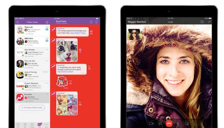 Captura de pantalla 001 de Viber 5.4.1 para iOS iPad
