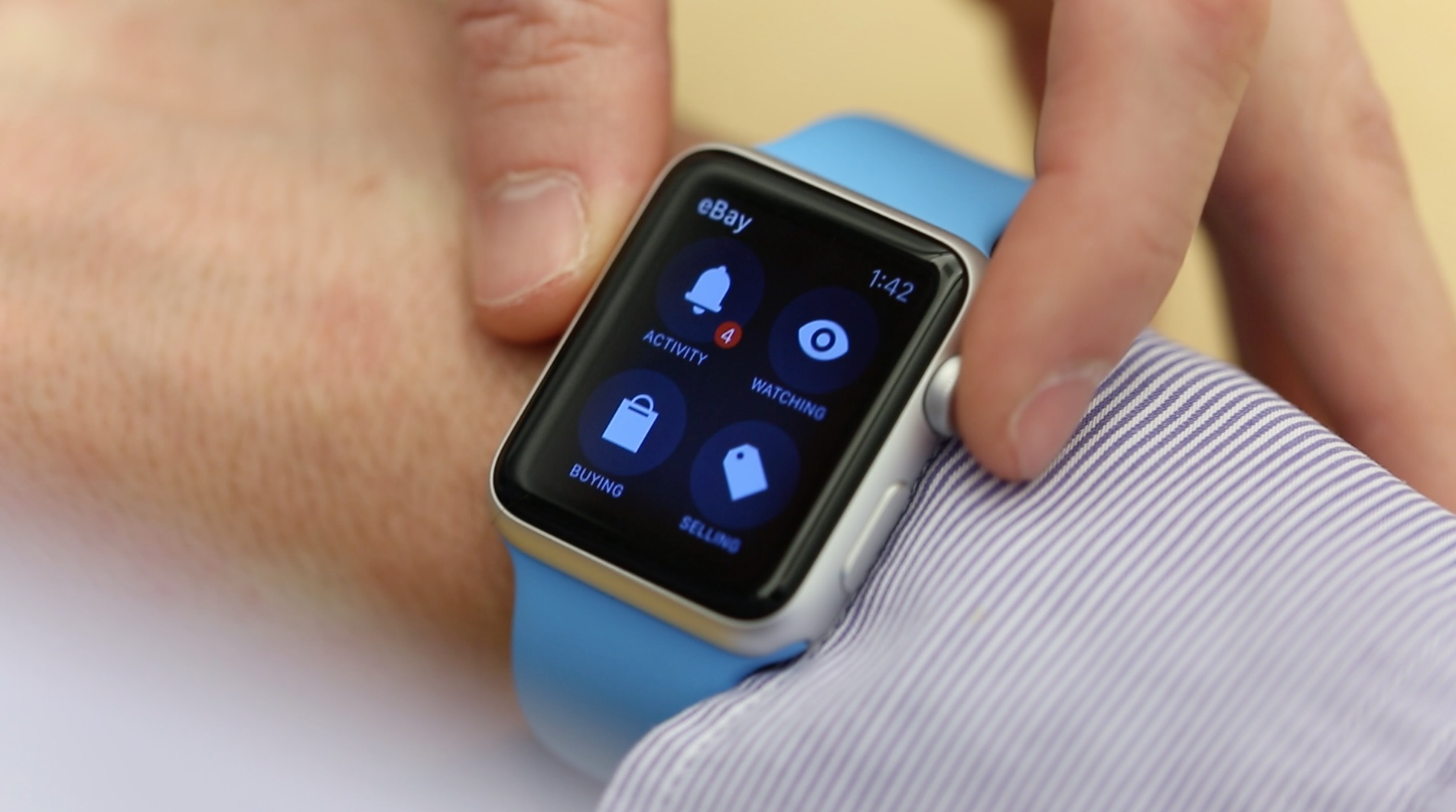 eBay for Apple Watch teaser 001