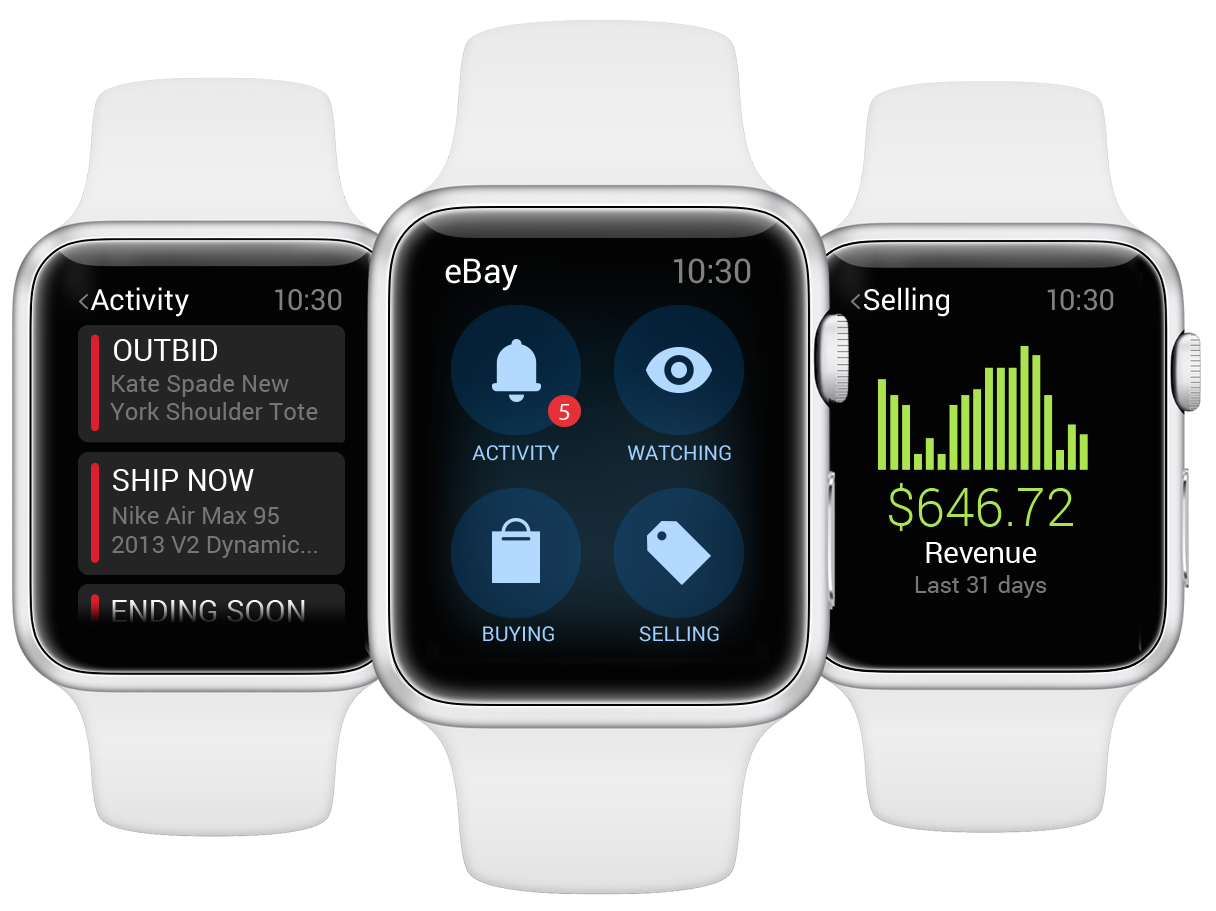 eBay for Apple Watch