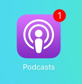 iOS 9 beta 2 Podcasts icon