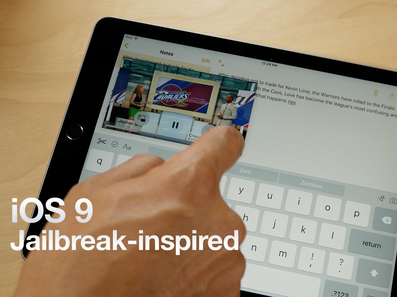 iOS 9 jailbreak-inspired