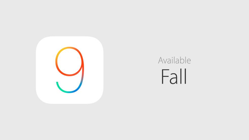 iOS 9 public fall