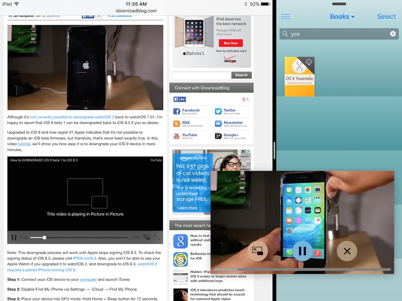 iPad AIr 2 Super Multitasking