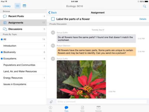 Captura de pantalla 002 de iTunes U 3.0 para iOS iPad