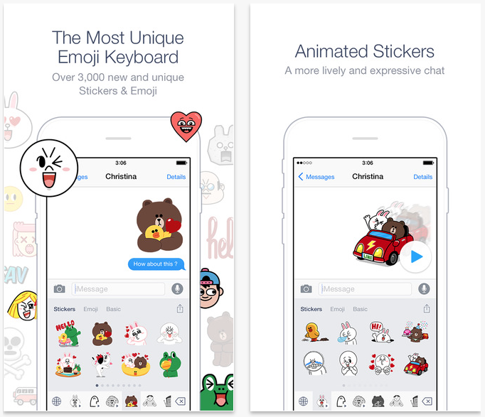 Line launches new Emoji Keyboard app for iOS