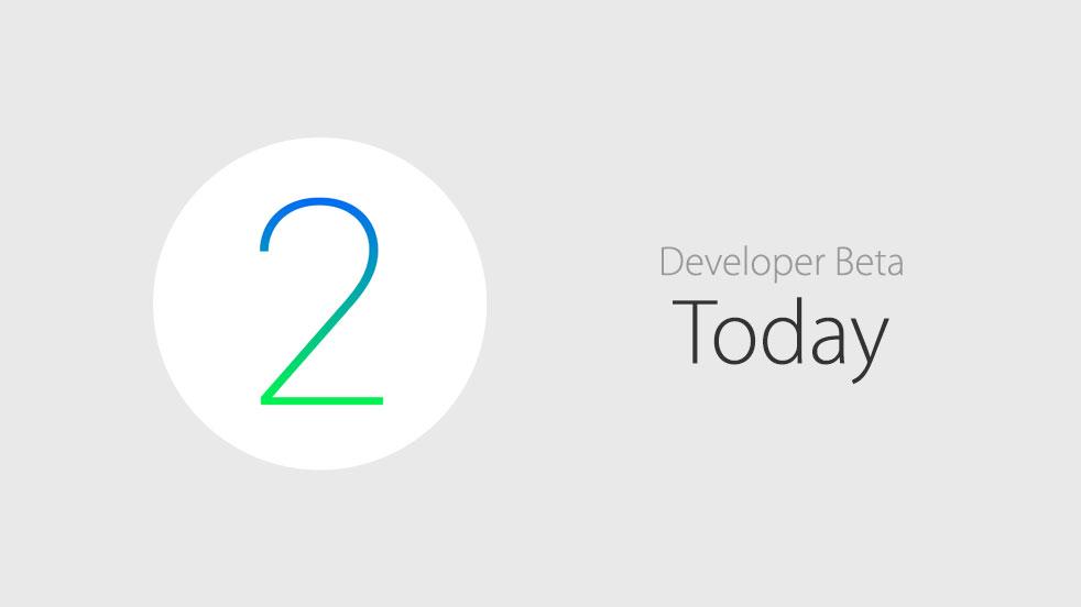 watchOS 2 beta today