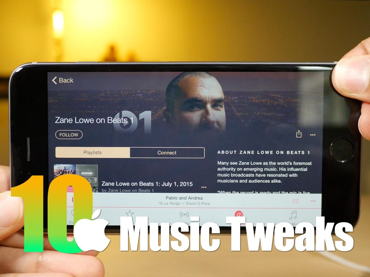 10 Apple Music Jailbreak Tweaks
