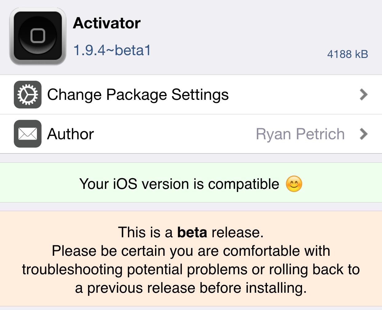 Activator 1.9.4 beta 1