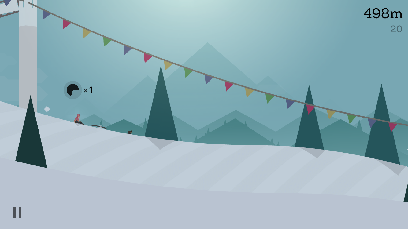 Alto's Adventure 1.1 for iOS helmet counter iPhone screenshot 001