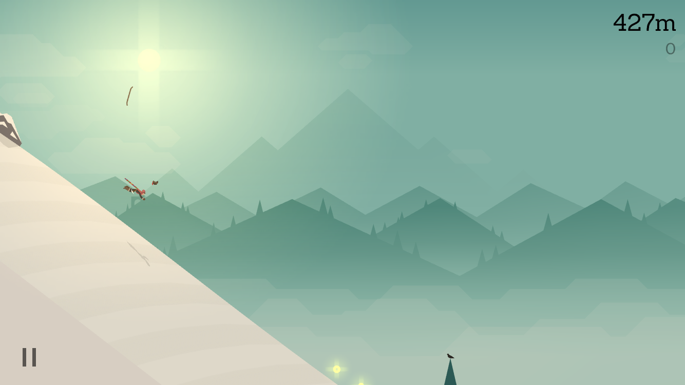 Alto's Adventure 1.1 for iOS helmet crash iPhone screenshot 001