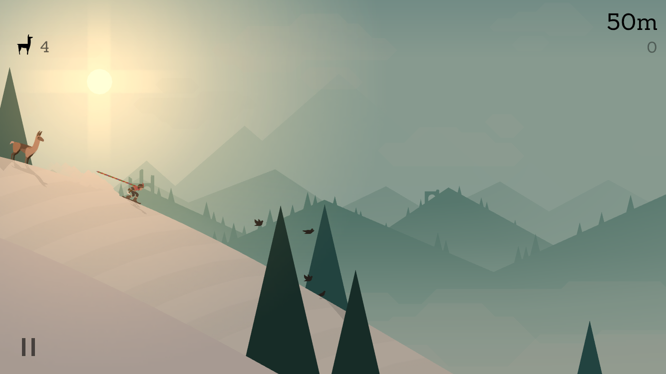 Alto's Adventure 1.1 for iOS helmet iPhone screenshot 001