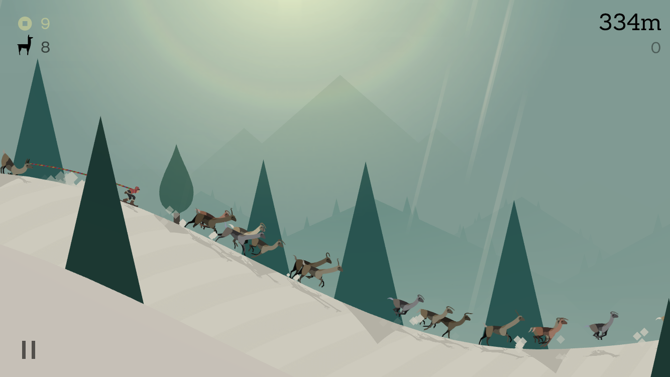 Alto's Adventure 1.1 for iOS stampede iPhone screenshot 001
