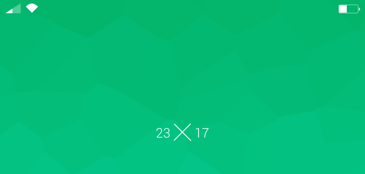 Android Solid Lock screen