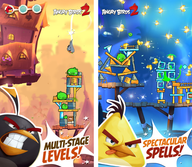 Captura de pantalla 001 de Angry Birds 2 para iOS iPhone