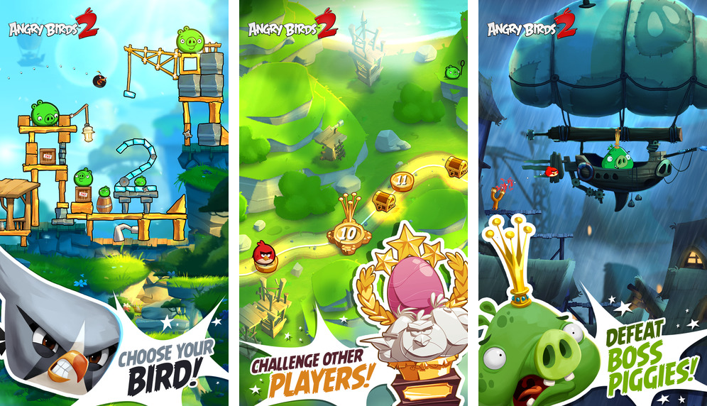 Captura de pantalla 002 de Angry Birds 2 para iOS iPhone