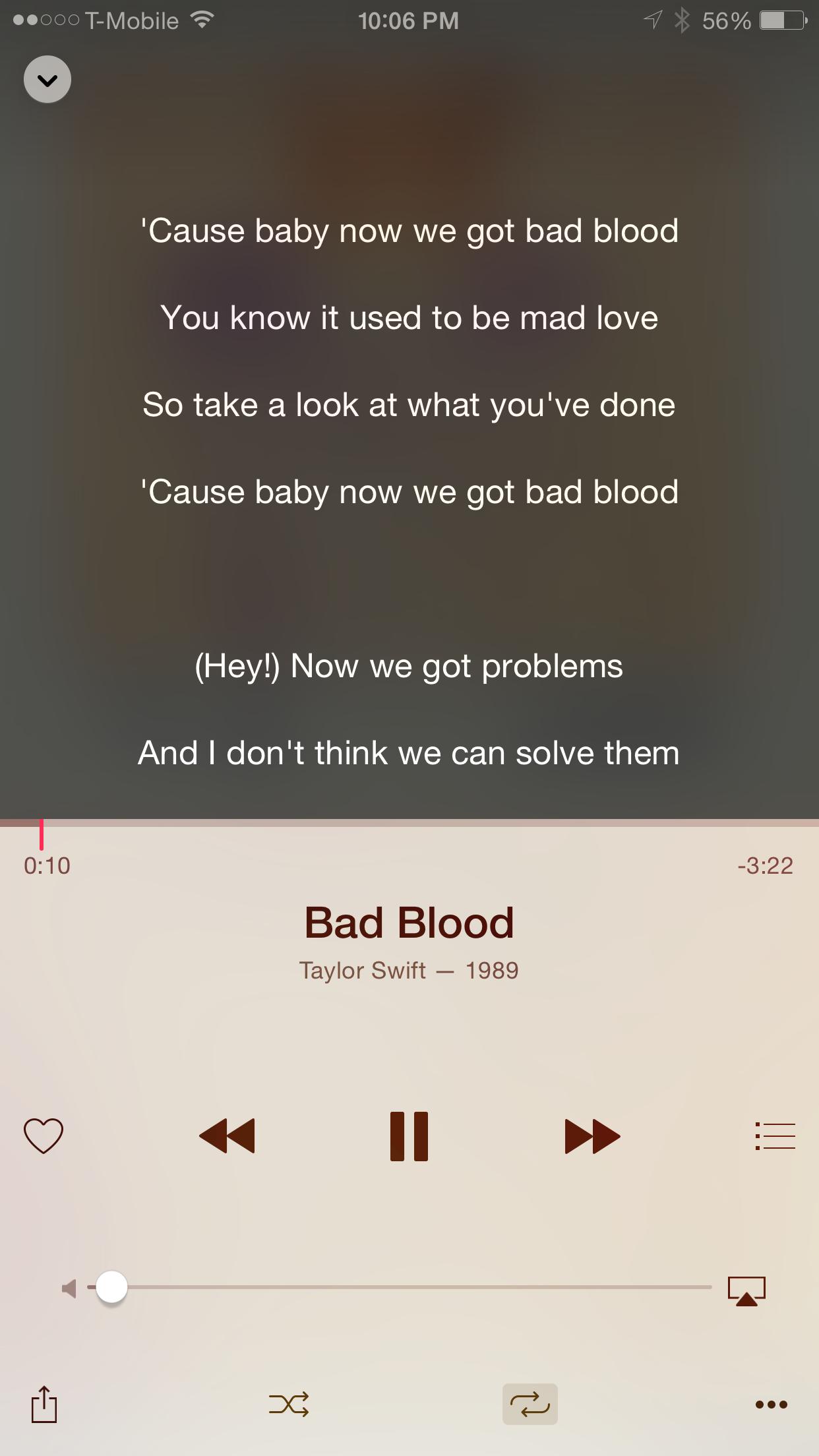 Apple Music Lyrics App