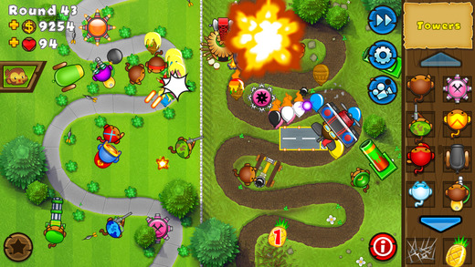 Bloons Tower Defense 5 for iPhone and iPad named IGN's Free