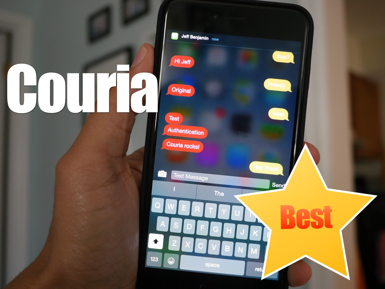 Couria Best of the Best Quick Reply