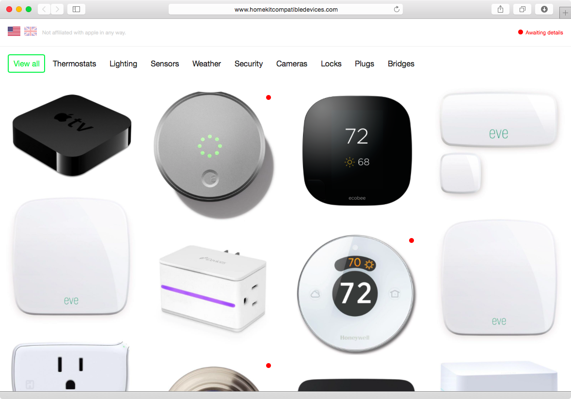Here S A List Of All Homekit Compatible Appliances For The