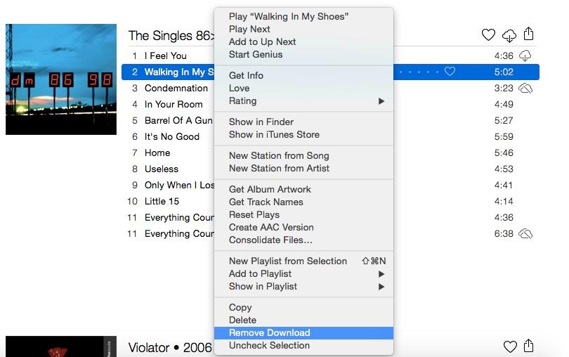 How to fix Apple Music DRM in iTunes Mac screenshot 002