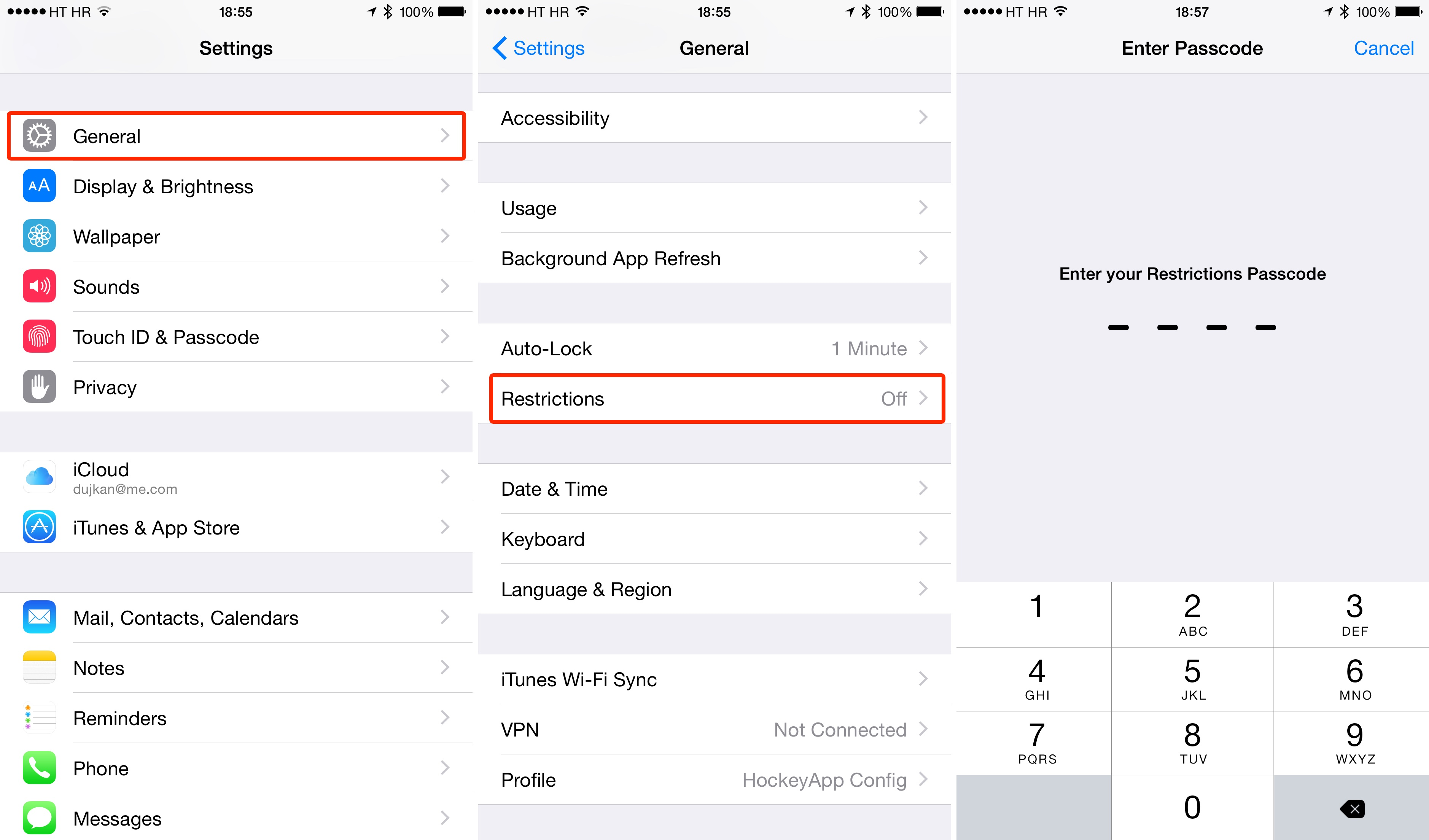 How to replace Connect with Playlists iOS 8.4 Music iPhone screenshot 001