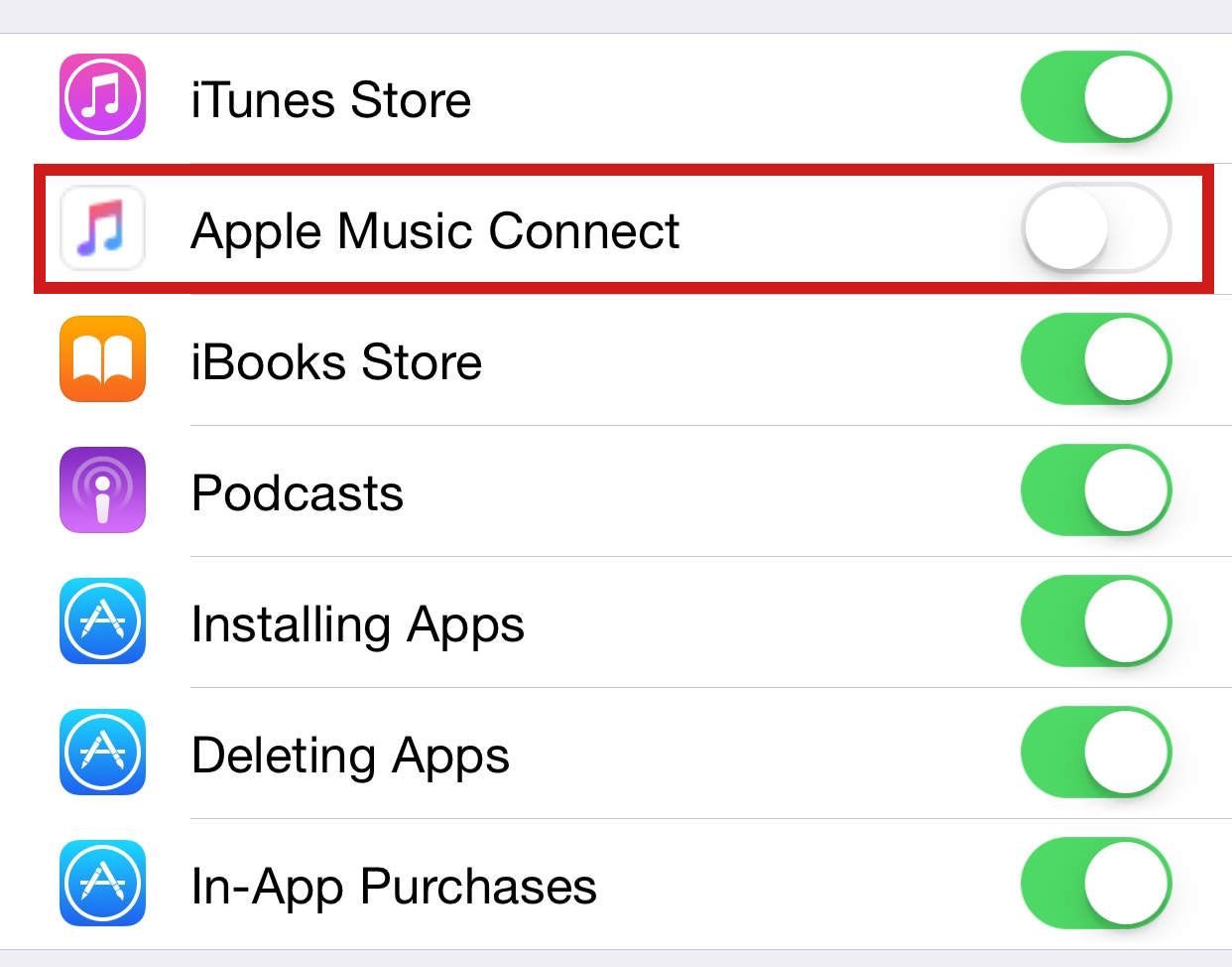 How to replace Connect with Playlists iOS 8.4 Music iPhone screenshot 002