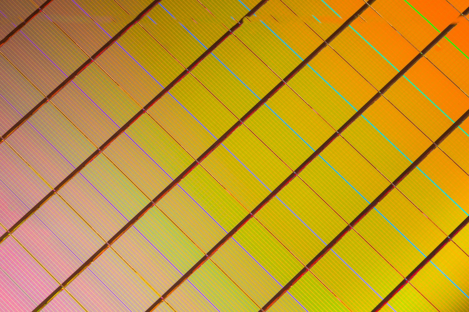 Intel 3D XPoint Wafer image 001
