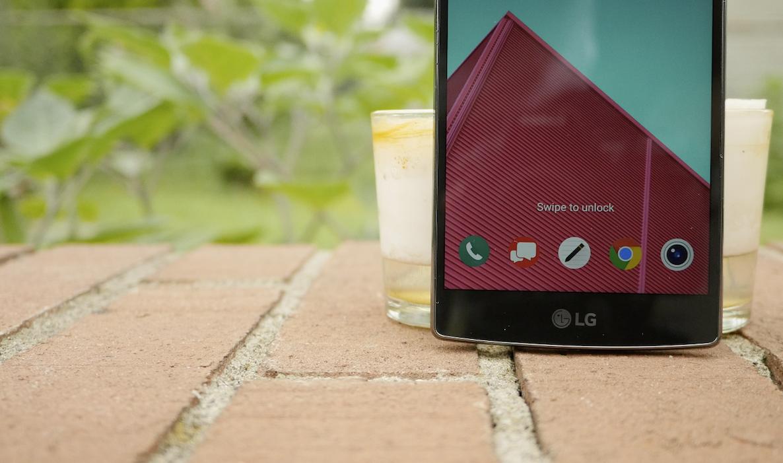 Lock screen shortcuts LG G4