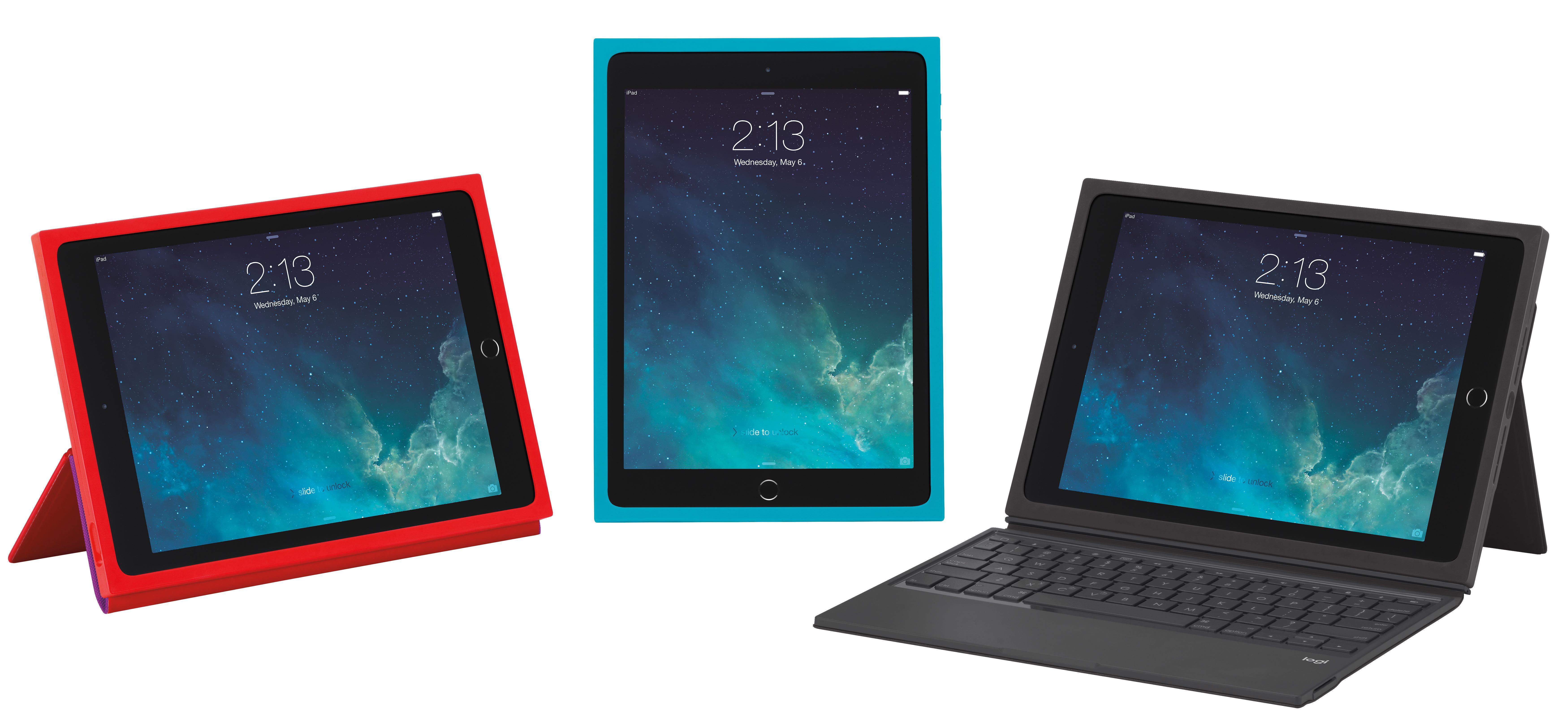 Logitech BLOK cases for iPad