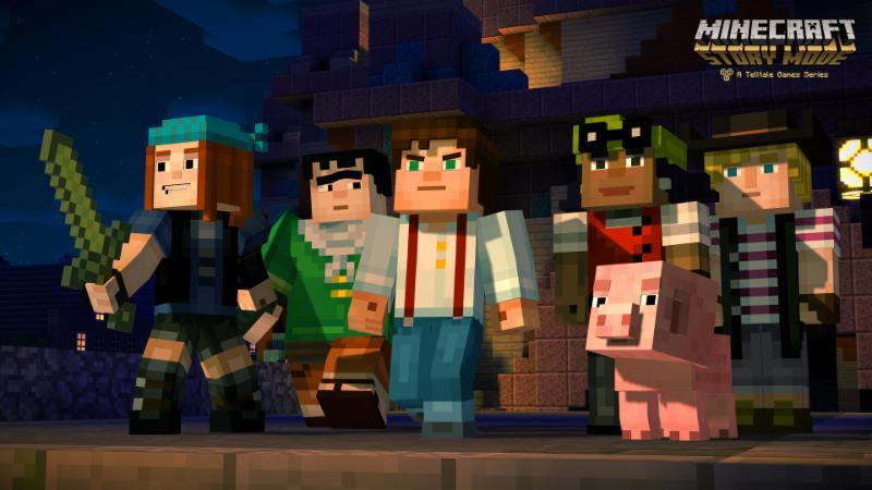 Minecraft Story Mode teaser 001