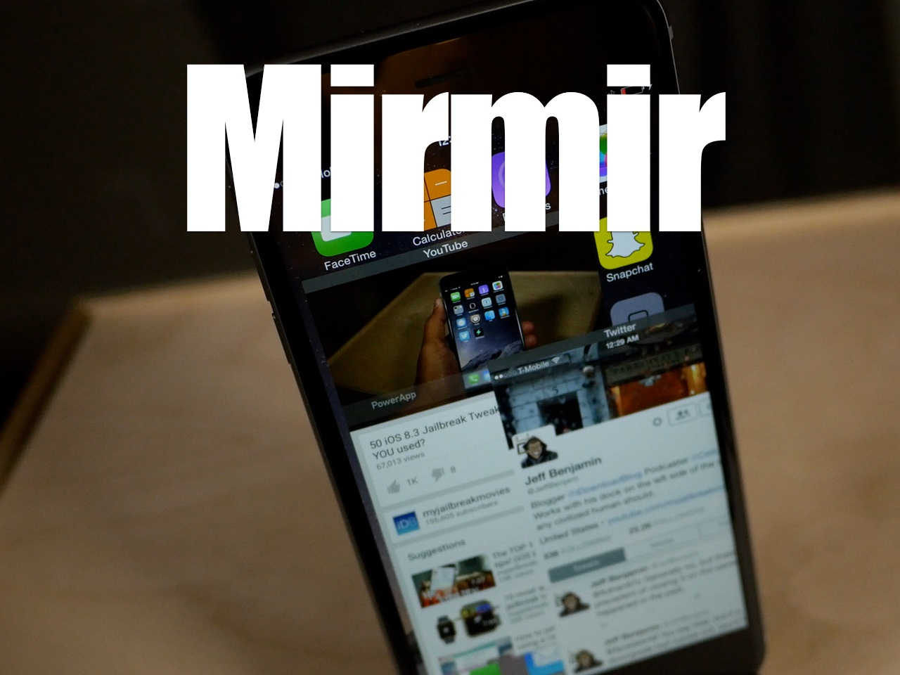 Mirmir iOS 8.4 multitasking tweak