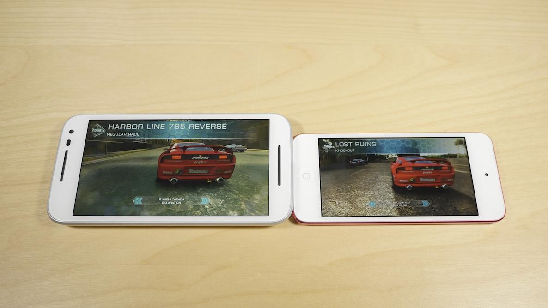 Moto G vs iPod touch 6th gen