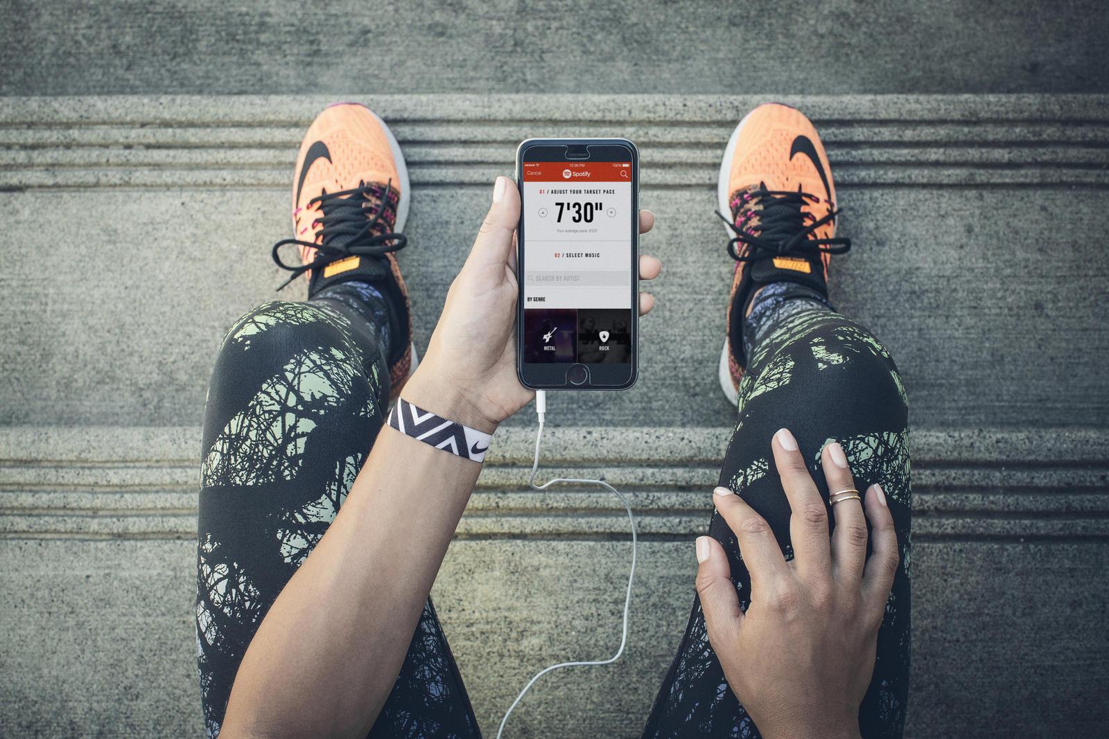 Teaser 001 de Nike Running y Spotify