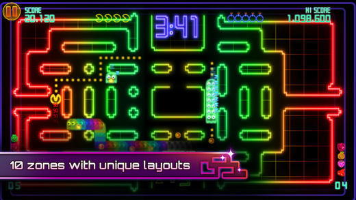 Pac-Man Championship Edition DX 1.0 for iOS iPhone screenshot 003