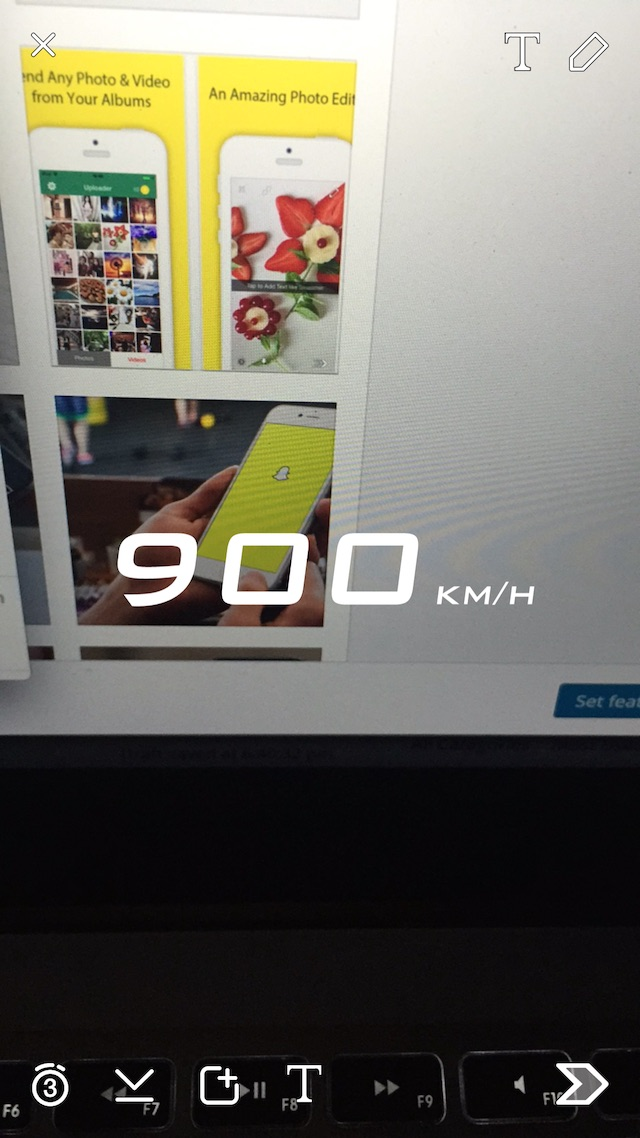Snapchat+ Spoof speed