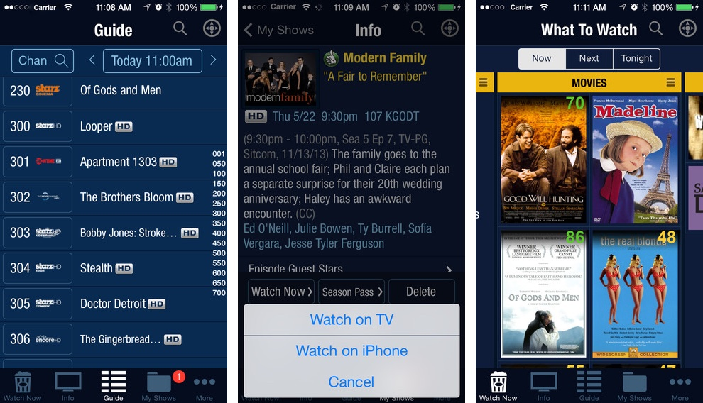 TiVo 3.5.3 for iOS iPhone screenshot 002