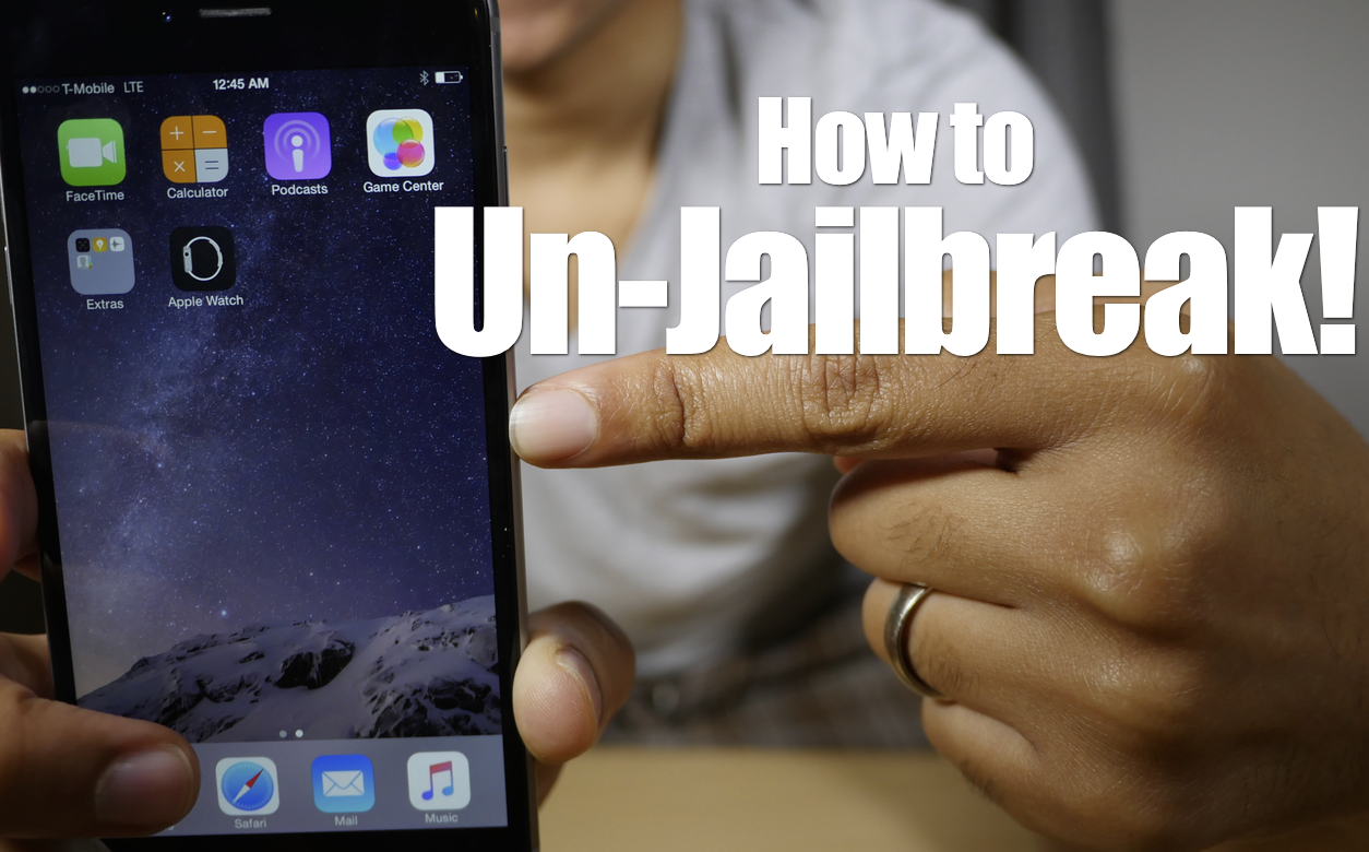 how to unjailbreak iphone without computer how to unjailbreak your iphone or ipod touch with 2065